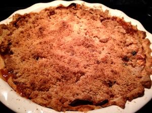 Apple-Cranberry Crumb Pie
