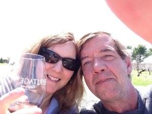 Wine and sunshine!
