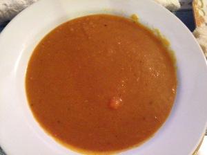 Yellow Split Pea-Pumpkin Soup