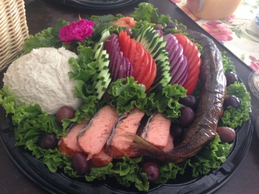 The fish platter!