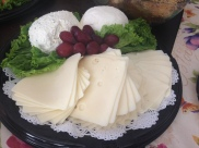 Cream cheeses and cheese