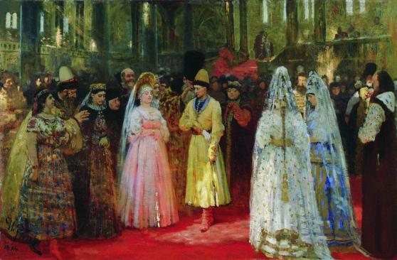 grand_dukes_bride_by_repin