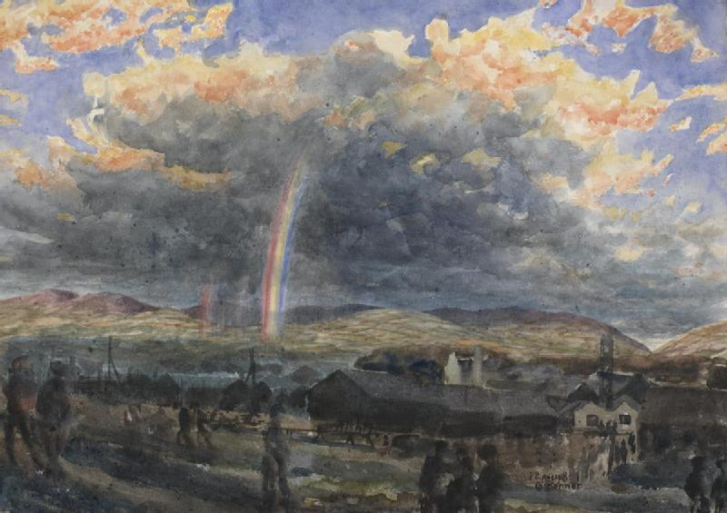 storm_and_rainbow_symbol_for_near_end_of_war_1918_art-iwmart17055
