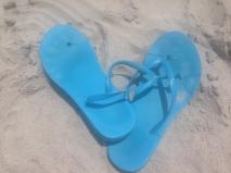My flip flops flopped!