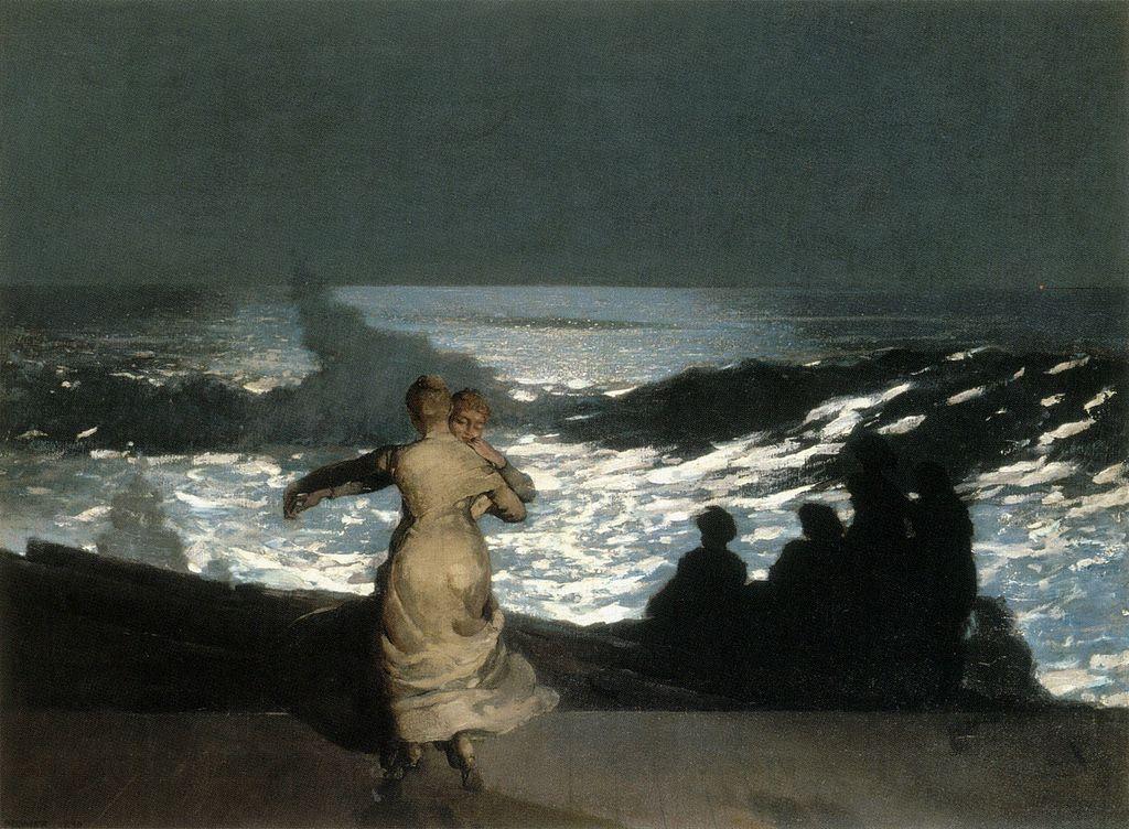 Winslow_Homer_-_Summer_Night_(1890)