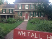 Whitall House, Red Bank Battlefield, National Park, NJ