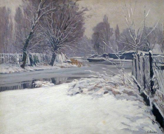 Georges_Daubner-Paysage_d'hiver_(1921)