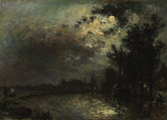 Johan_Barthold_Jongkind_-_View_on_Overschie_in_Moonlight_-_Google_Art_Project