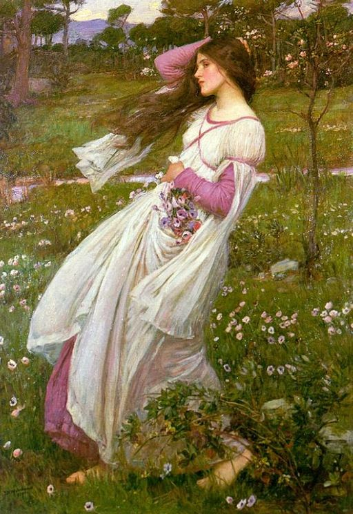 Windswept_by_John_William_Waterhouse