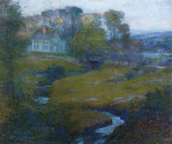 Robert_Vonnoh_-_Lingering_Rain,_Moon_and_Eventide