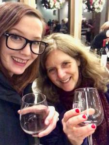 At Sharrott Winery, Members Holiday Party, 2018