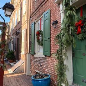 Elfreth's Alley, December 2018