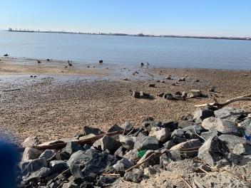 Delaware River at Red Bank Battlefield