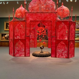 """Take me, take me to the Palace of Love. . .Rina Bannerjee, PAFA"