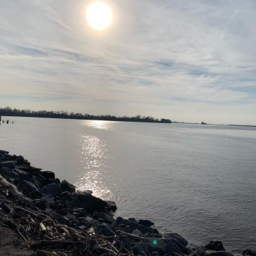 Delaware River, Red Bank Battlefield