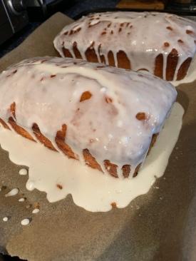 Lemon Cake--extra icing. :)