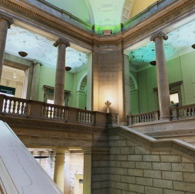 Main Staircase, Free Library of Philadelphia