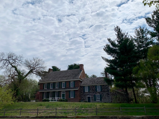 Whitall House, Red Bank Battlefield, National Park, NJ  Merril D. Smith 2019