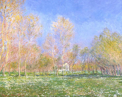 Monet_-_Frühling_in_Giverny