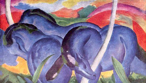 Franz_Marc, Blue Horses