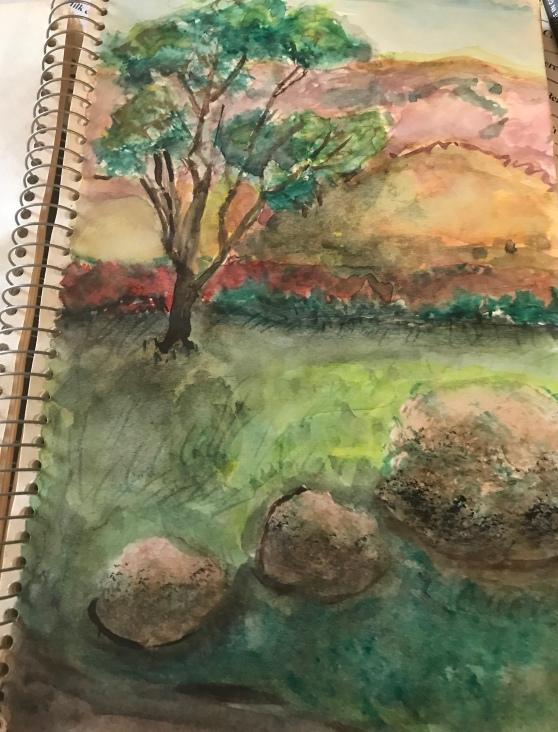 Sylvia Schreiber, Giverny Sketches