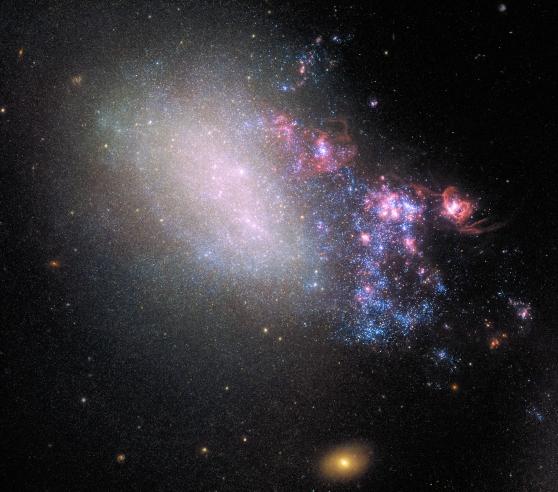 Irregular Galaxy NGC 4485
