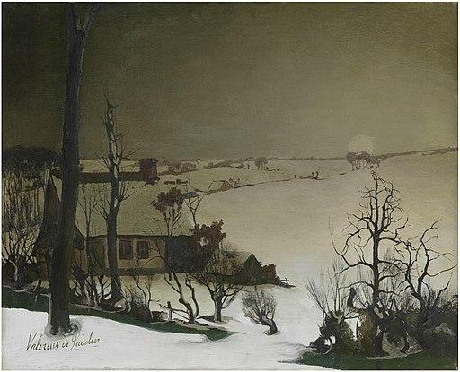 Valerius_De_Saedeleer_-_Winter_landscape