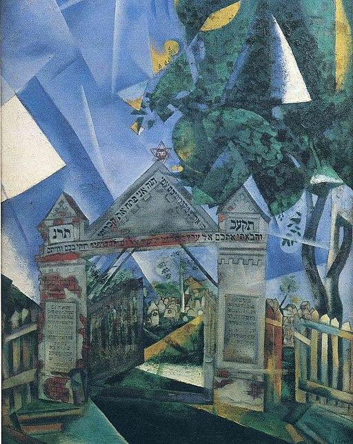 512px-_The_Cemetery_Gates_,_Marc_Chagall_(1917)_Musée_d'art_et_d'histoire_du_Judaïsme