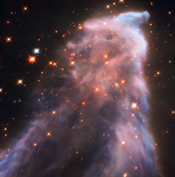 Ghost of Cassiopeia, NASA
