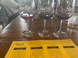 Sharrott Winery, Hammonton, NJ, Barrel Tasting Flight