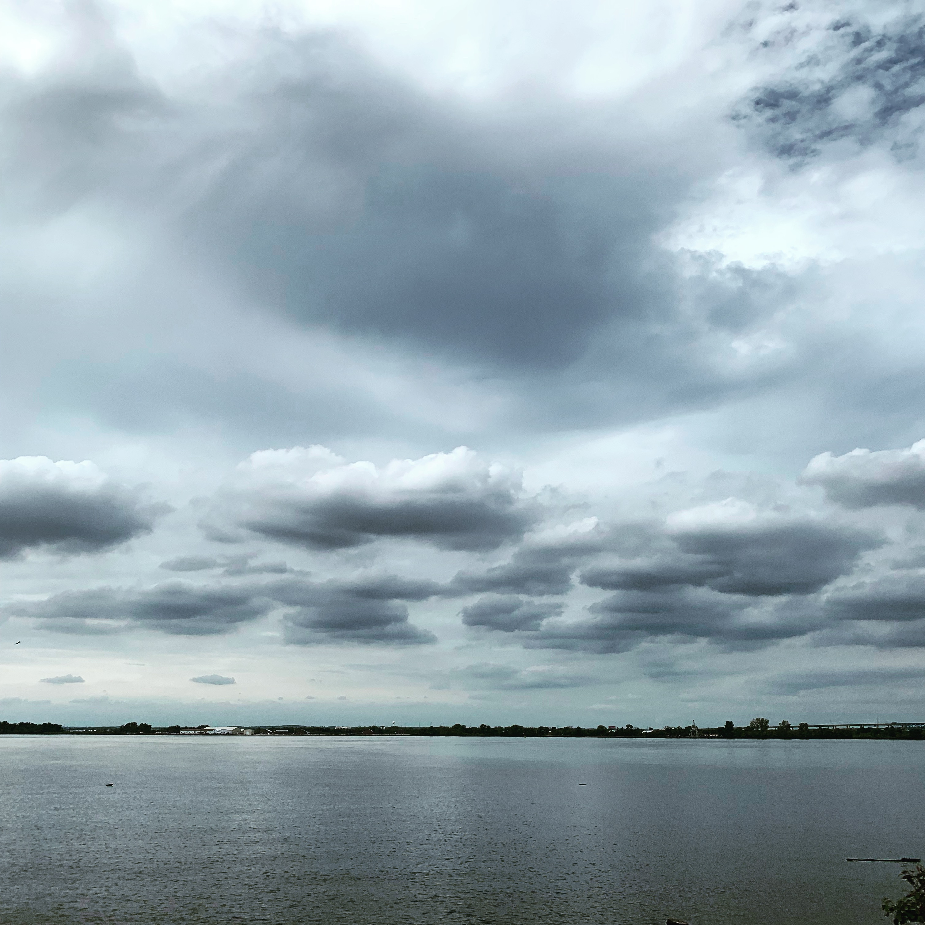 August Sky over the Delaware River at Red Bank Battlefield