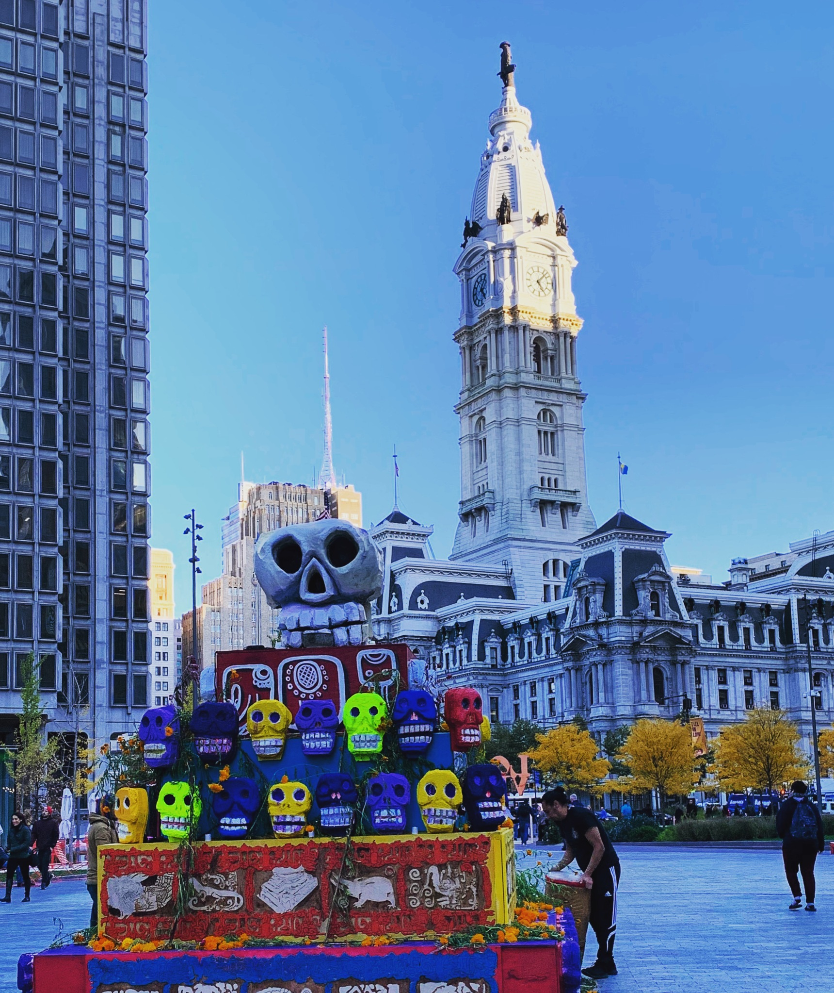Day of the Dead at Love Park