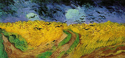 512px-Vincent_van_Gogh_(1853-1890)_-_Wheat_Field_with_Crows_(1890)