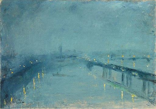 Lesser_Ury_London_im_Nebel_1926