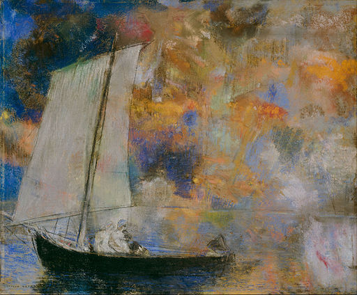 Odilon_Redon_-_Flower_Clouds_-_Google_Art_Project