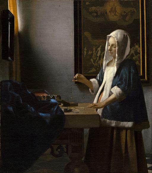 512px-Johannes_Vermeer_-_Woman_Holding_a_Balance_-_Google_Art_Project