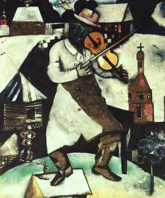 Chagall-The-Fiddler-1912